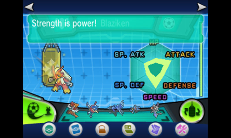 STRENGTH IS POWER! said the Blaziken on steroids...