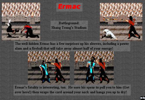 """Ermac"" - MK1"