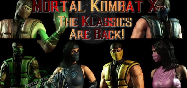 Klassic Versions of Favorite Characters Return in Mortal Kombat X – with VIDEO