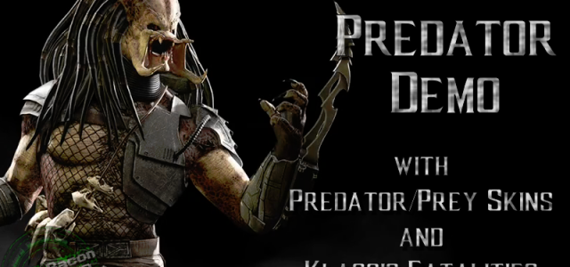 Mortal Kombat X – Predator Demo – with VIDEO