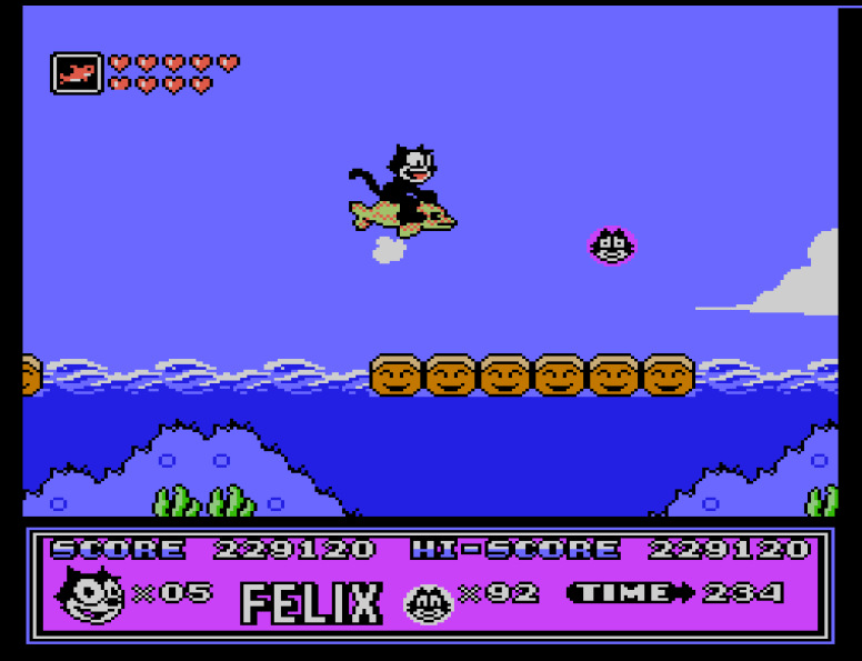 Felix The Cat Nes Nerd Bacon Reviews