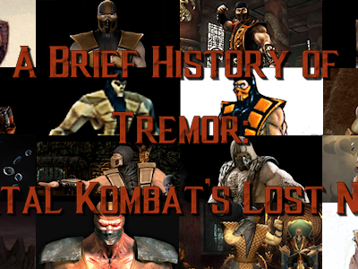 A Brief History of Tremor: Mortal Kombat's Lost Ninja