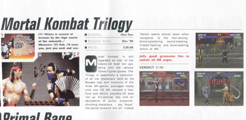 Aqua - Mortal Kombat Trilogy