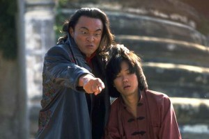 Shang Tsung and Chow Kang