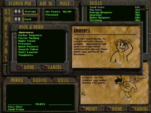 Fallout 2 stats