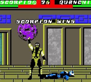 Mortal Kombat 4 - Game Boy Color