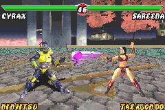 Mortal Kombat: Tournament Edition - GBA