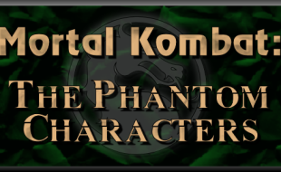 8 Phantom Characters from Mortal Kombat