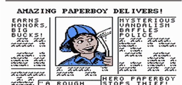 Paperboy – Nintendo Entertainment System (NES)
