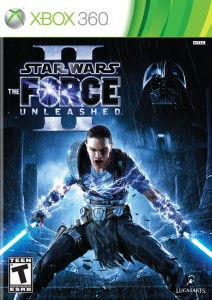 Star Wars The Force Unleashed 2 Box Art