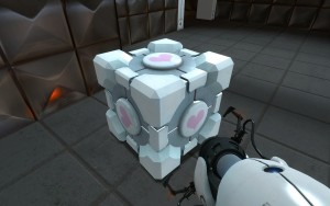 The Companion Cube, your best friend for life.