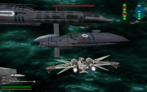 All the action of Star Wars Battlefront - NOW IN SPACE!