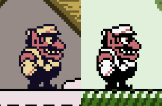Wario side-by-side