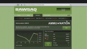 Well now I own 30% of Ammu-Nation.