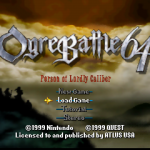 Ogre Battle 64 – Nintendo 64