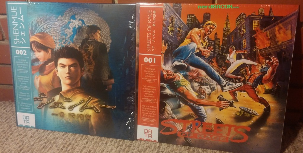 shenmue streets of rage vinyls