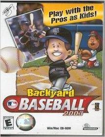 Backyard Baseball 2003 U2013 PC