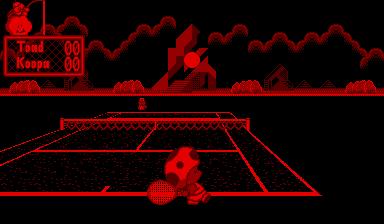 Mario's Tennis - Virtual Boy - Nerd Bacon Reviews
