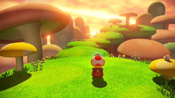 Is it weird that Toad is surrounded by more mushrooms, yet they can't walk and talk like him?