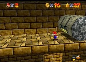 Mario doing his best Indiana Jones impression.