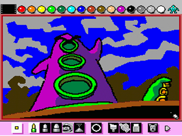 One of my favorite Mario Paint creations. From Day of the Tentacle! Art credit to Emiliosan at Deviant Art.
