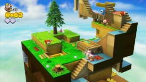 Multiple Toads! Yup, the double cherry power-up from Mario 3D World is back.