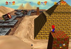 Getting up here isn't any easier in the Wii version.