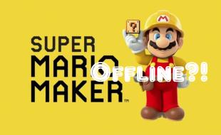 Super Mario Maker Undergoes Emergency Maintenance