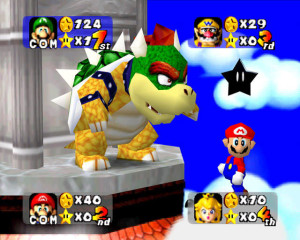 You can always count on your buddy Bowser to screw you over!