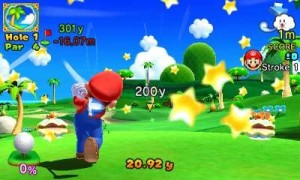 I wish stars shot out of my golf ball like that.