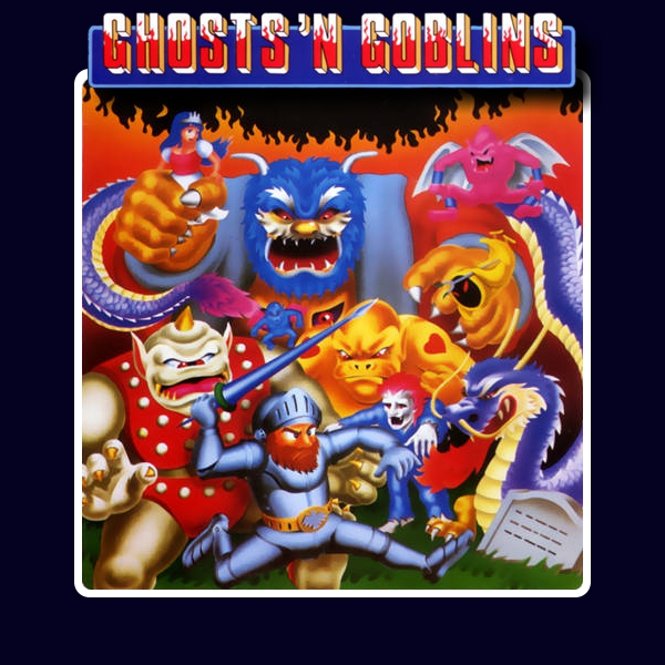 #2 Ghosts_'N_Goblins_-_NES_-_Album_Art