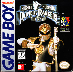 mighty morphin power rangers the movie box game boy