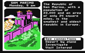 Not the old 80's Carmen Sandiego that most people are familiar with.