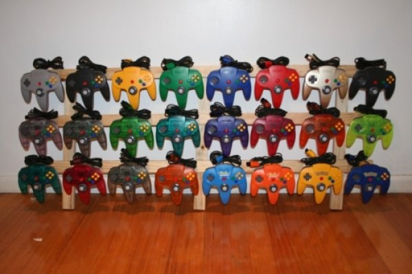 n64 controller colors