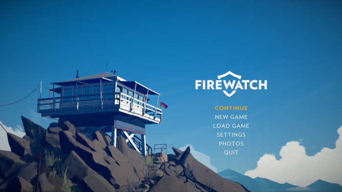 Firewatch [Title Screen]