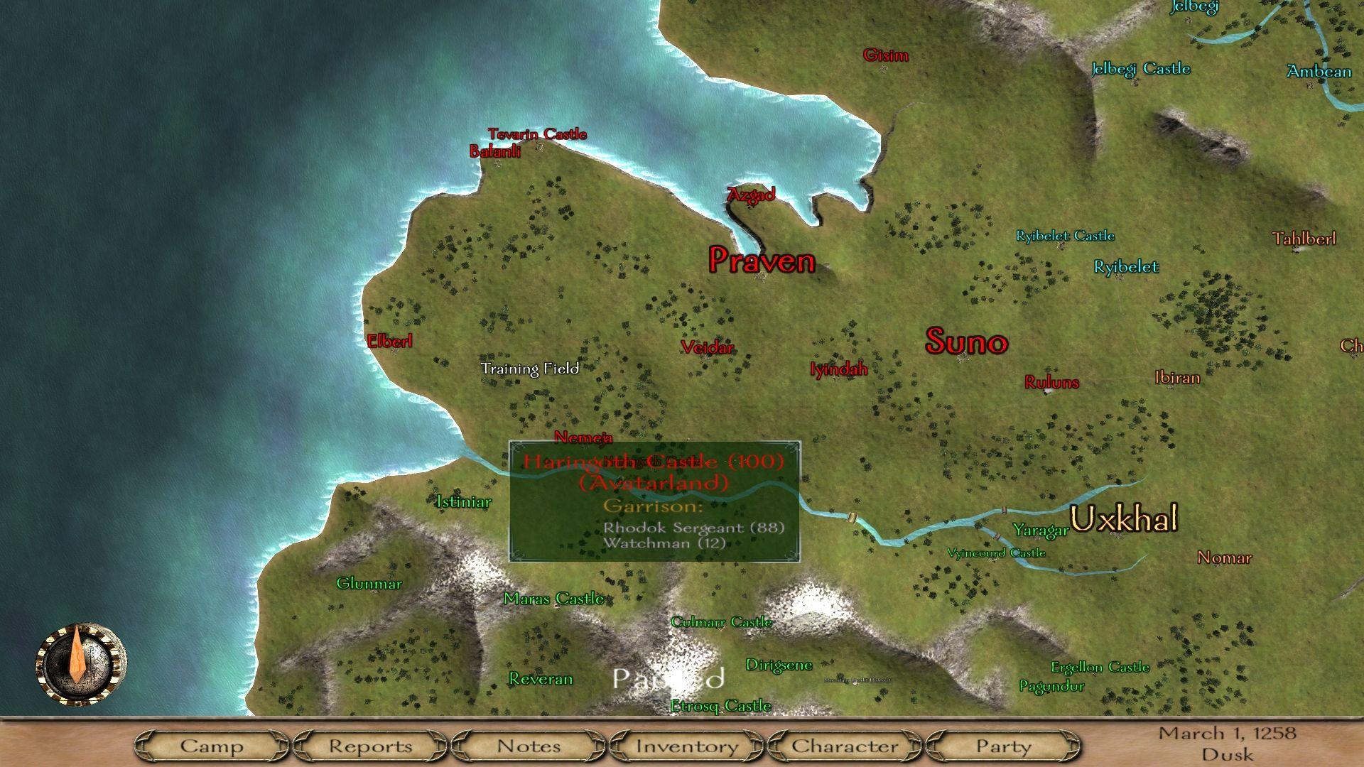 Mount & Blade [Map]