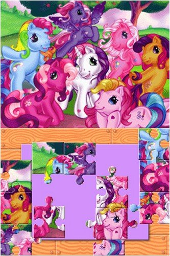The cutsie finale puzzle for Pinkie's birthday.