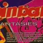 Pinball Fantasies – Atari Jaguar