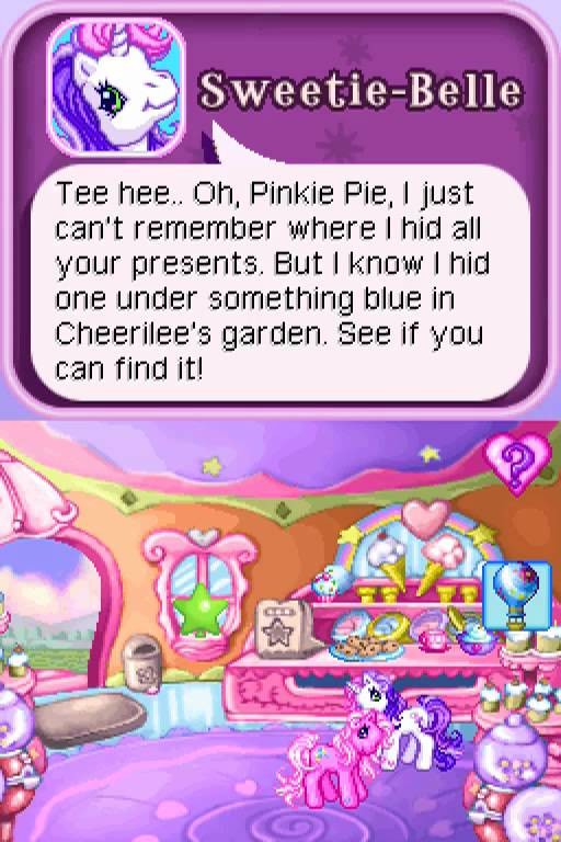 Well, except for Sweetie-Belle, since she's apparently useless.