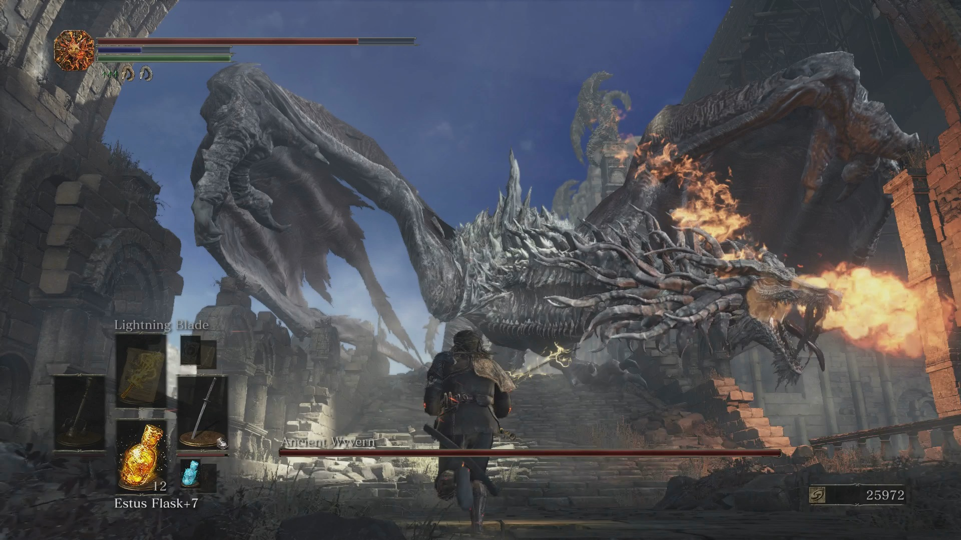Dark Souls Iii Playstation 4 Nerd Bacon Reviews Game Ps4 Soul Of The Year Edition 3 Boss Dragon