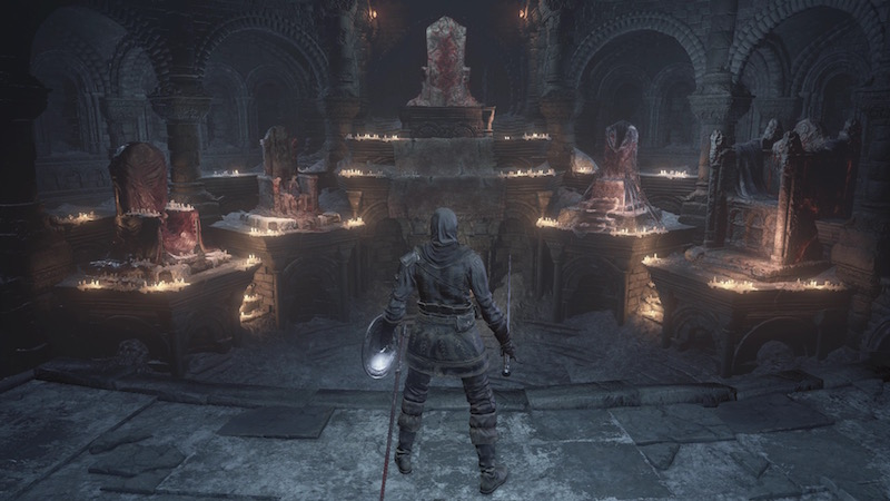 Dark Souls 3 Firelink Shrine