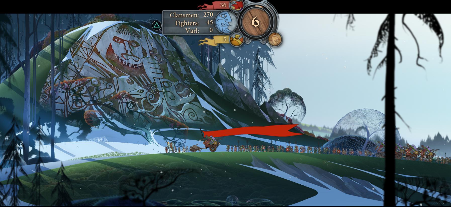 The Banner Saga Traveling 1