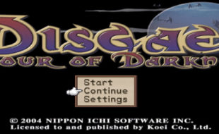 Disgaea: Hour of Darkness – PlayStation 2