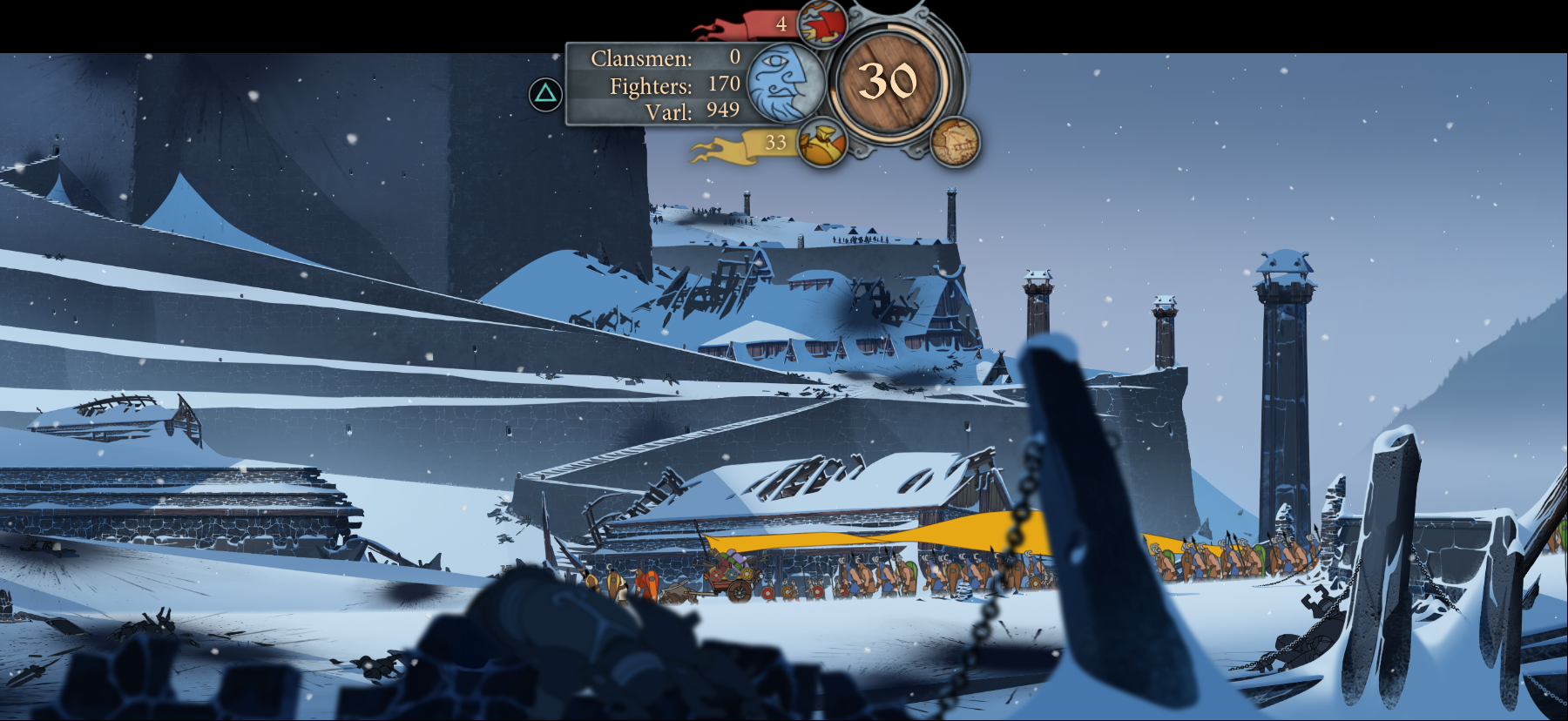 The Banner Saga Framing