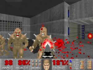 "Fifteen years ago, I used to be scared of this game. Ten years ago, I used ""iddqd"" to beat it. Five years ago, I learned how to set up strafe and mouselook. Yeah, I'm a slow bloomer, what of it?"