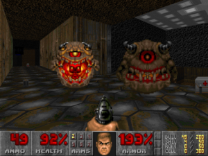 If you're bringing a pistol to a Pain Elemental fight, you're dead already. RIP Doomguy, 2016.