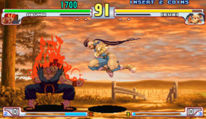 Although the hand-drawn sprites were superb, many felt that Street Fighter III's artwork was antiquated compared to flashier 3D games emerging at the time.