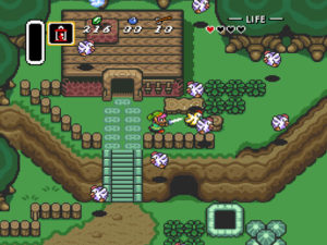 legend of zelda link to the past screenshot