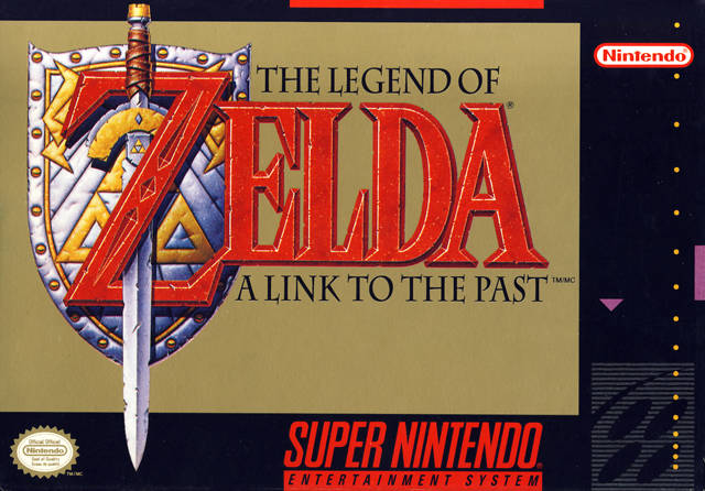 legend of zelda a link to the past box