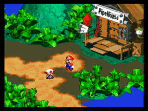 super mario rpg snes screenshot